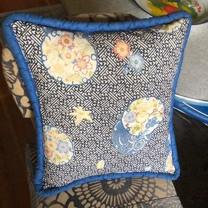 Blue Gables Pillow
